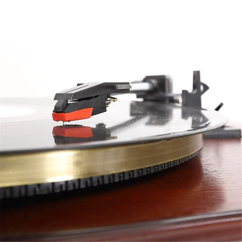 Magnetic Cartridge Stylus with LP Vinyl Needle for Turntable Record PlayerFT