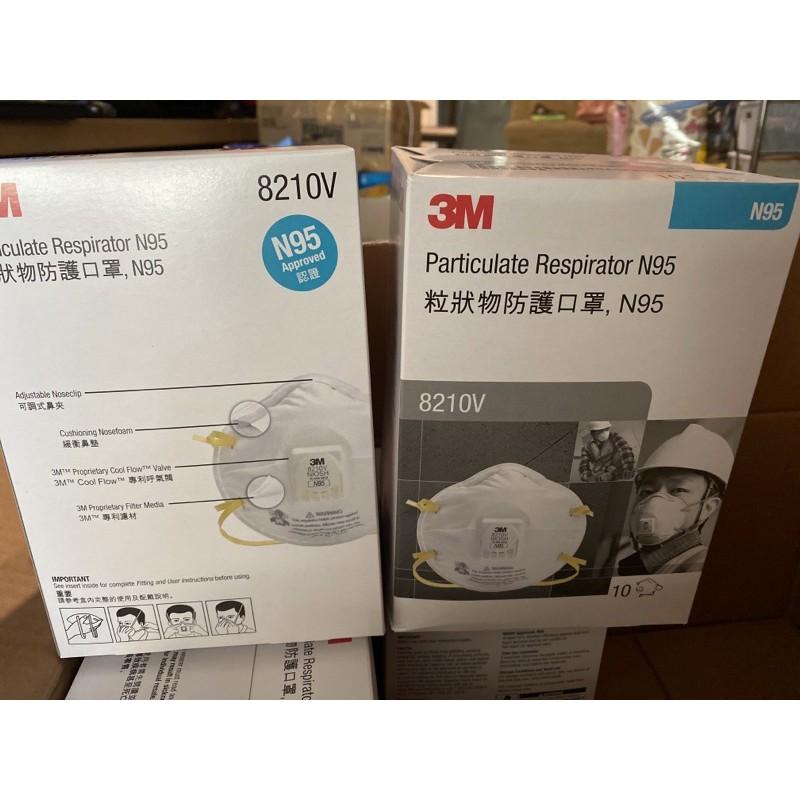 หน้ากาก 8210V N95 3M ป้องกันฝุ่น PM 2.5 รับมือได้ด้วยหน้ากากอนามัย 3M