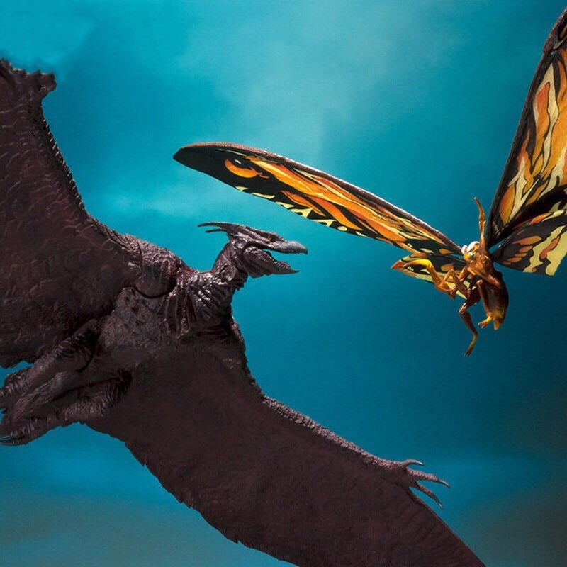 Movie Gojira 2 Mothra & Rodan Action Figure 18cm Model Godzilla PVC Action Figure Collectible Model Toy
