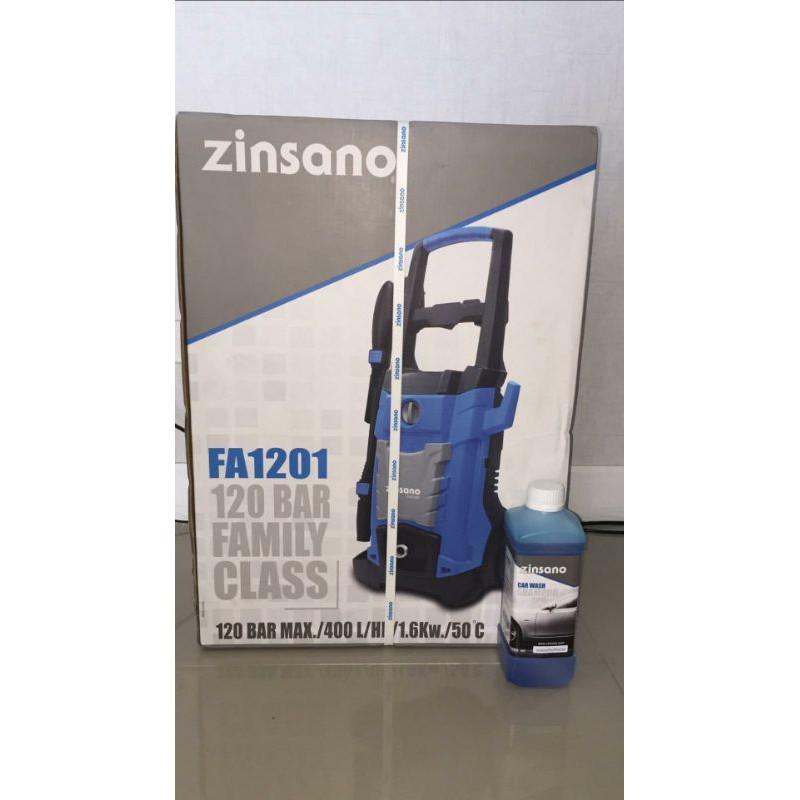 เครื่องฉีดน้ำ Zinsano FA1201 120 บาร์ซื้อมายังไม่เคยเปิดใช้งาน