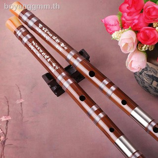 ✽Singing-Ding Xiaoming professional level single double-double copper bitter bamboo flute instrument first-school cross