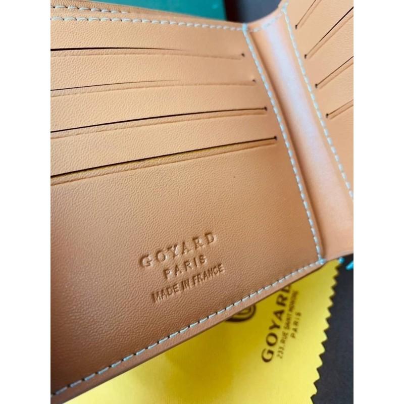 🌈Goyard wallet top  ออริ 📌size 11 cm.  📌สินค้าจริงตามรูป งานสวยงาม หนังแท้💯