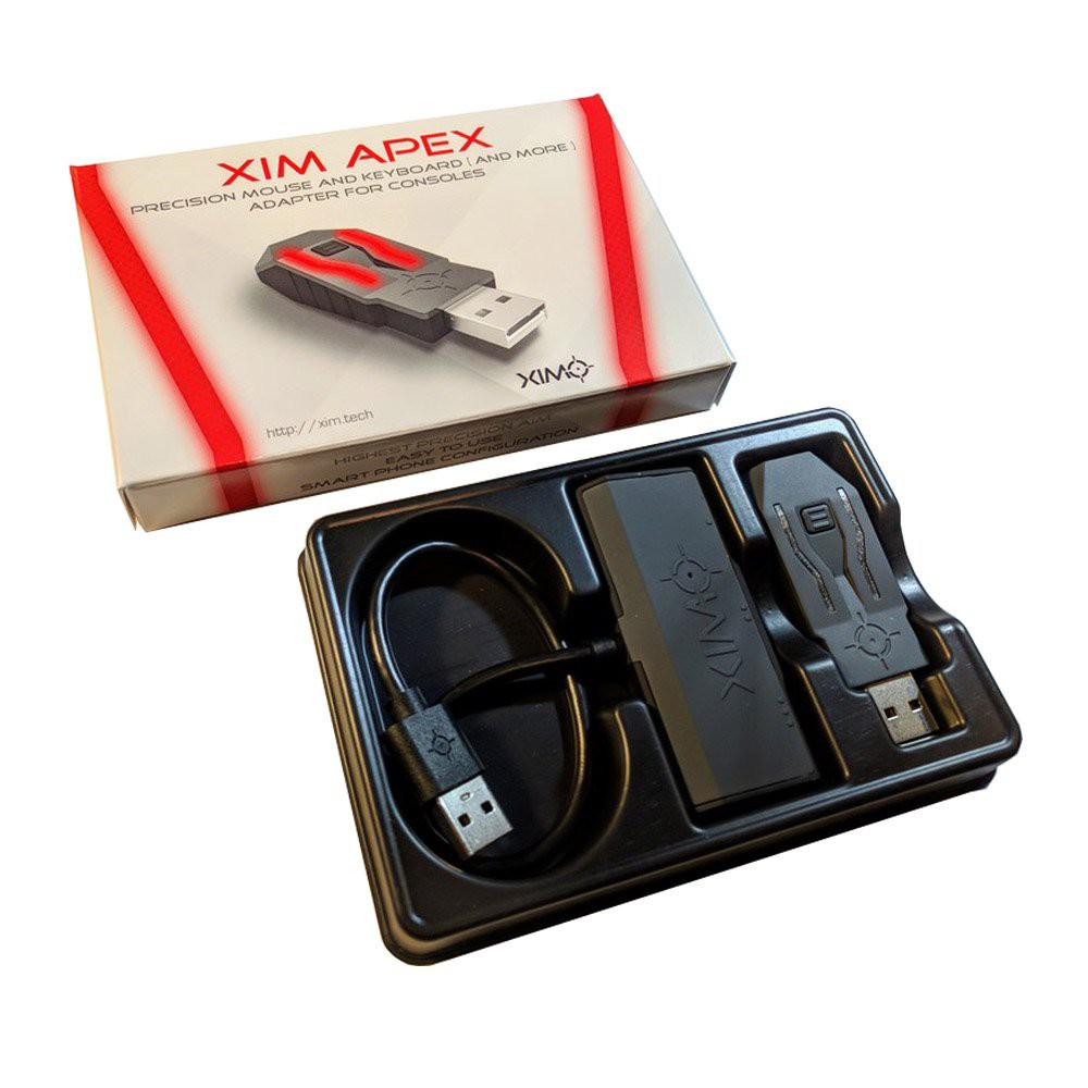 XIM APEX Keyboard Mouse Controller Adapter Converter for (PS4/PS3/Xbox  One/Xbox 360) ประกัน 6 เดือน