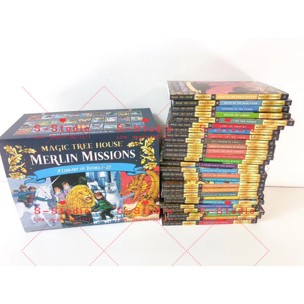 Magic Tree House  Merlin Missions 27books (free audio) A Library Of Books
