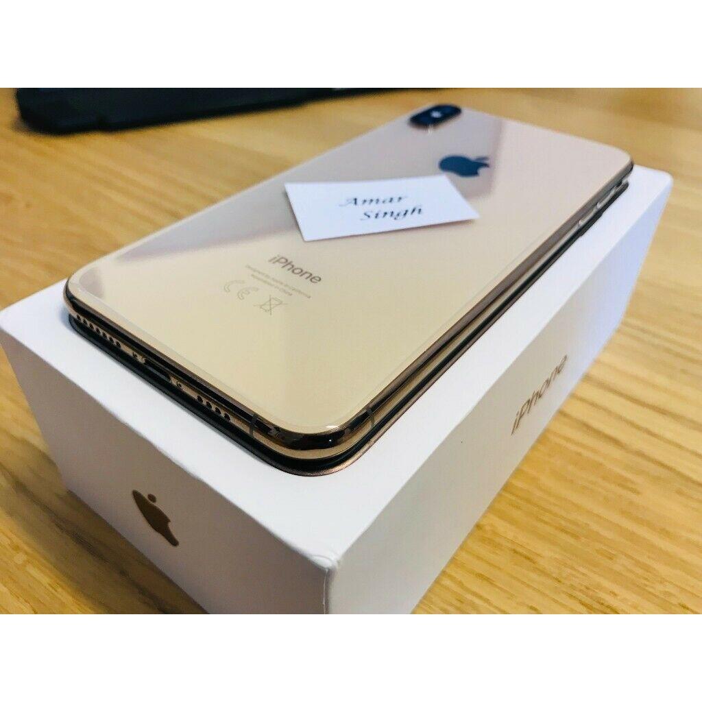 Apple iPhone XS MAX - 256GB  512GB Unlocked Smartphone