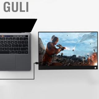 Review Guli 15.6 inch portable monitor  HD 1920x1080P IPS LED display touch screen game with HDMI/Type-C port
