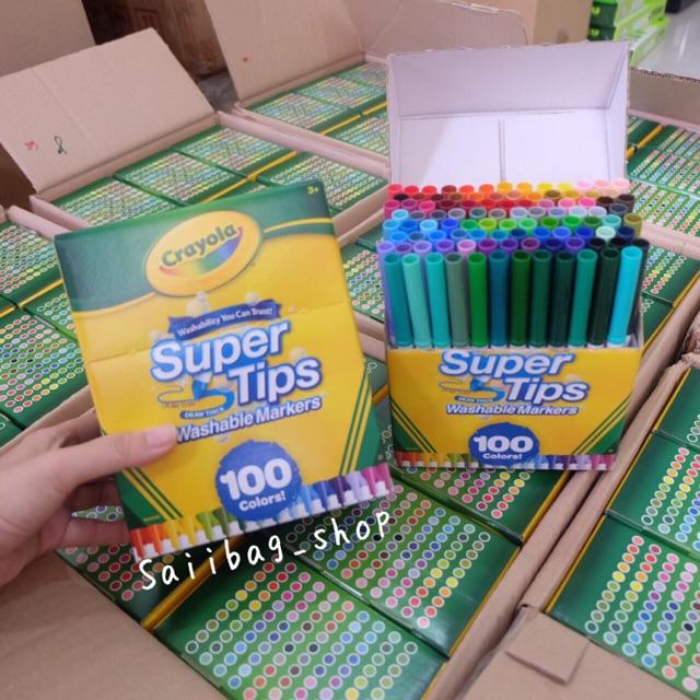 ปากกาสี Crayola 100 สี