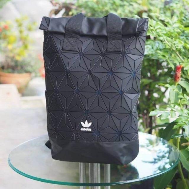"Adidas 3D Roll Top Backpack กระเป๋าเป้สะพายหลัง 18"""