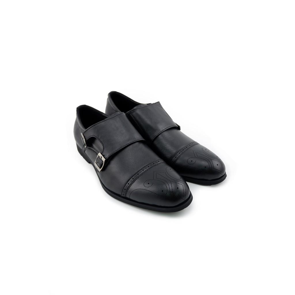 LUIGI BATANI รองเท้าคัชชูหนังแท้ รุ่น LBD0121-51 สีดำ