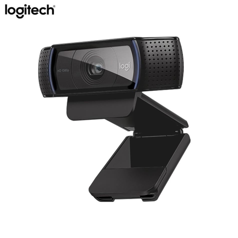 Logitech C920e HD Webcam Smart HD 1080 P กล้องเว็บแคม