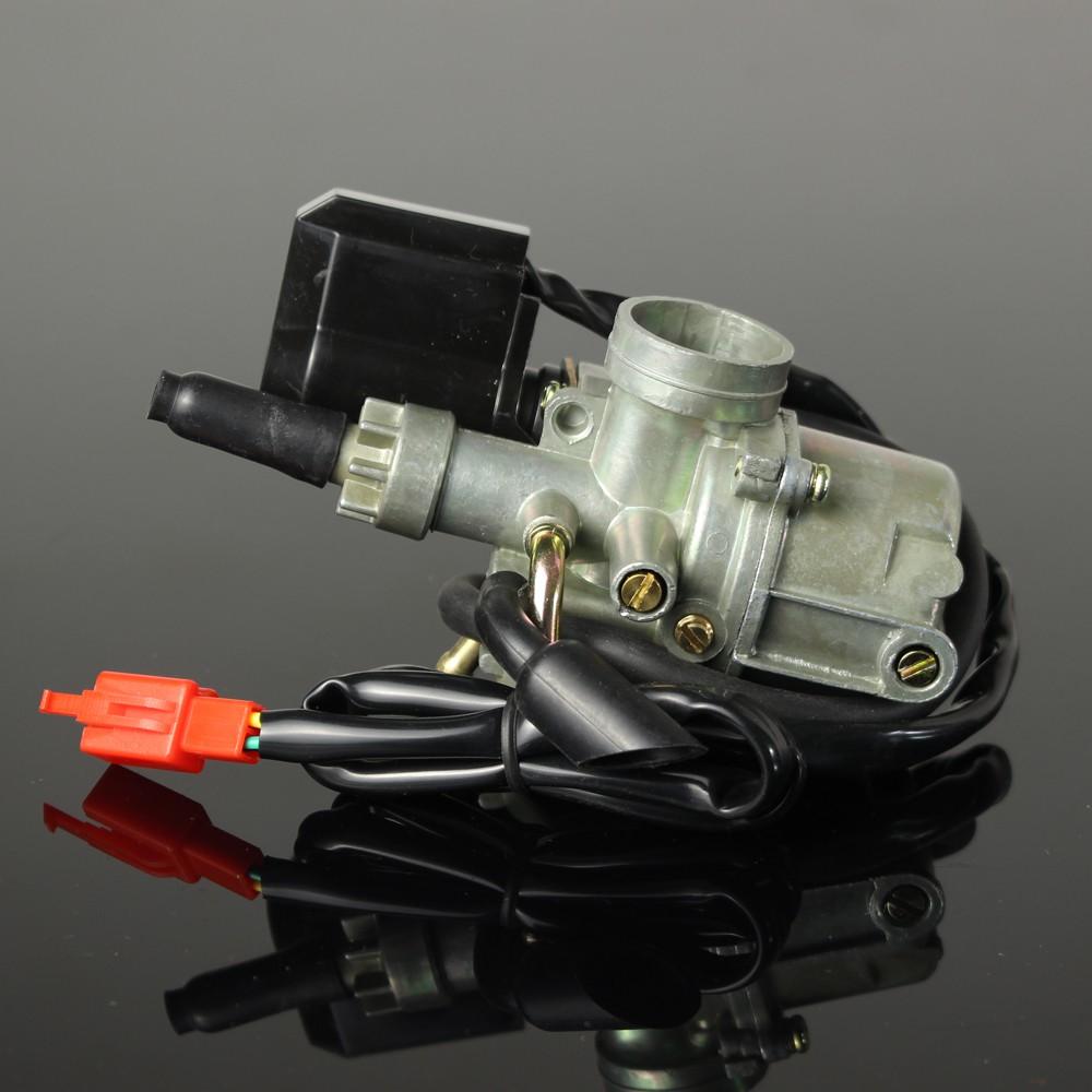 17 มม. Carb Pz 17 สําหรับ Honda Dio 50 Cc 24 30 Tict 50 Sp Zx 34 35 Symco อะไหล่สกู้ตเตอร์คาร์บูเรเตอร์