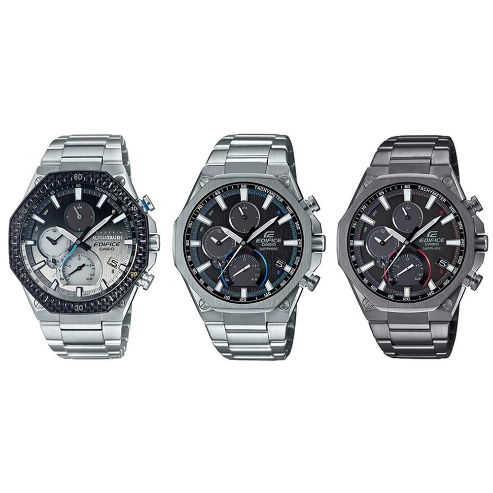 ไม่มีใครเทียบได้◙Casio Edifice นาฬิกาข้อมือผู้ชาย สายสแตนเลส  รุ่น EQB-1100 (EQB-1100AT-2A,EQB-1100D-1A,EQB-1100DC-1A)