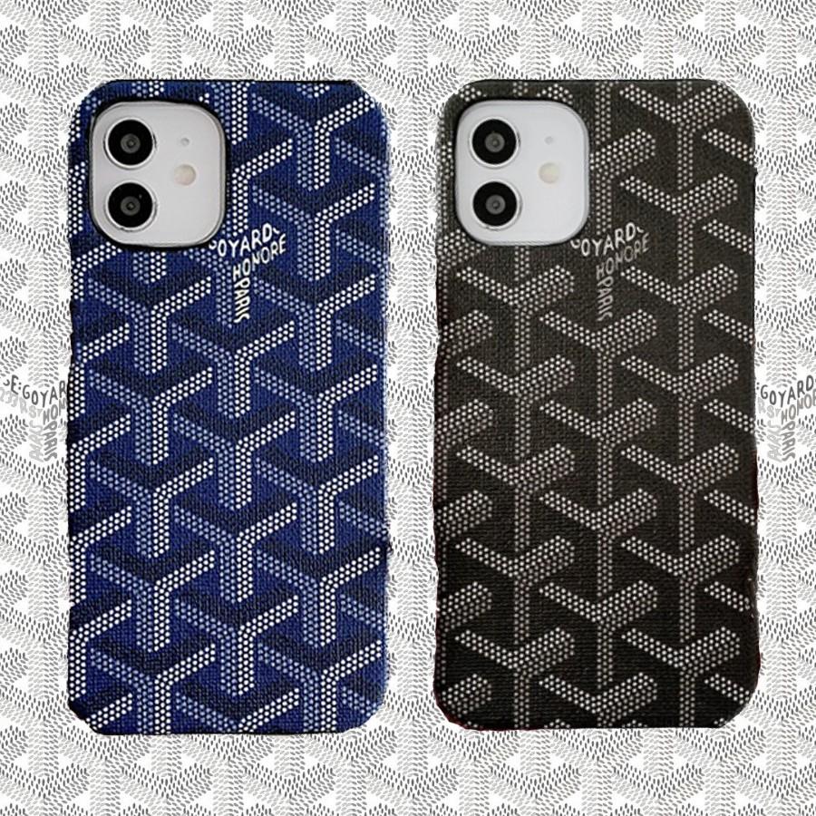 [เคสไอโฟนลาย Goyard] เคสลาย Goyard สำหรับ iPhone 12 Pro Max / iPhone 12 มี 3 สีสวย พอดีมือ คุณภาพสูง ไม่ดันฟิล์ม