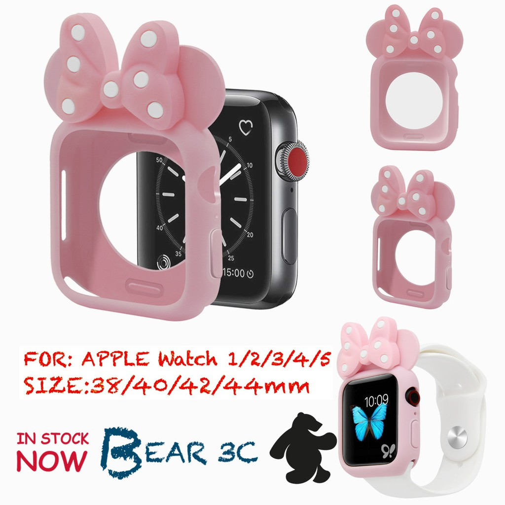 Lovely IWatch Cover Soft Casing Cartoon Apple Watch Case 40 44MM Degree