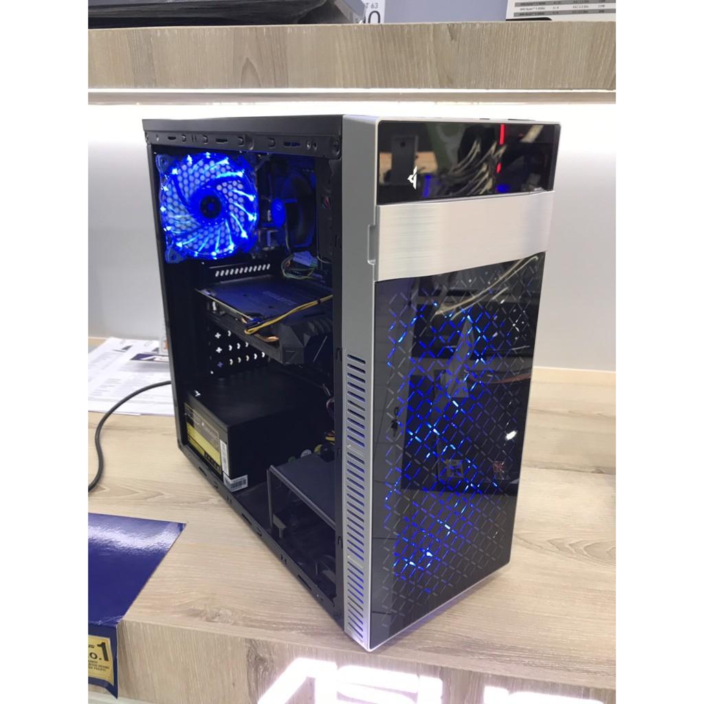 [มือสอง] เครื่องคอมพิวเตอร์ Intel Core i5-6400 / RAM 8GB / GeForce GTX1060 3GB / SSD 120GB M.2 / PSU 660Watts
