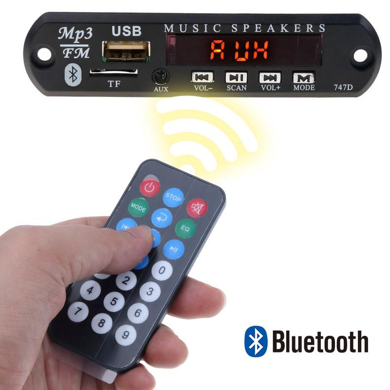 Review Bluetooth DC 5V MP3 WMA Decoder Board Wireless Car Vehicles Audio Modul