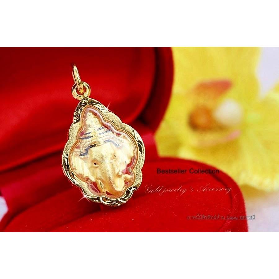 จี้เลี่ยมทอง ขนาด 1.5*2.5 ซม ราคา 499 บาทค่า