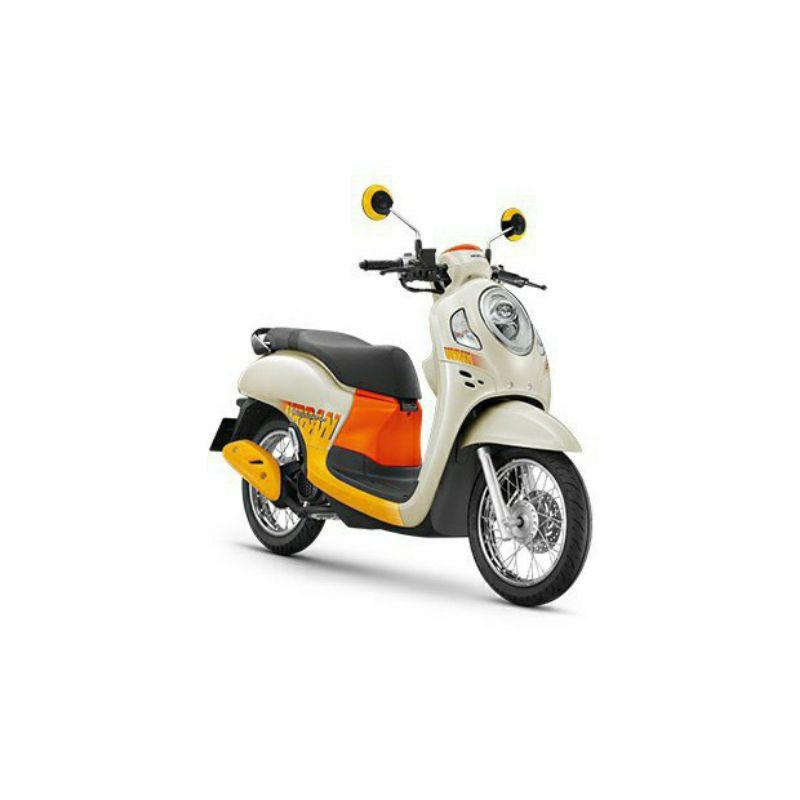 Honda รถจักรยานยนต์ รุ่น SCOOPY110 I ปี 2021 URBAN TEAM