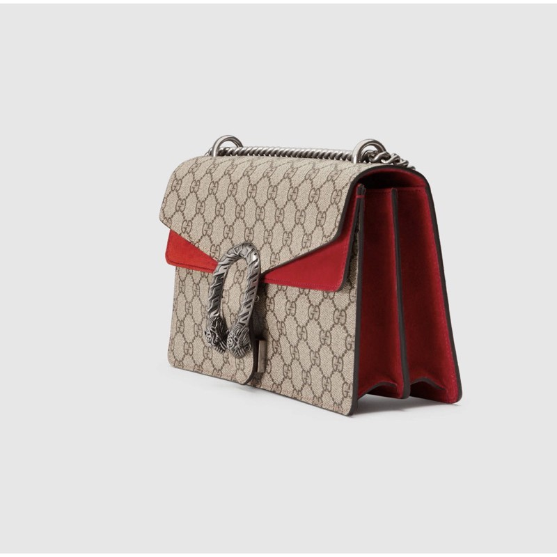 GUCCI Dionysus กระเป๋าสะพายไหล่ สีแดง กระเป๋าสะพาย Dionysus 400249