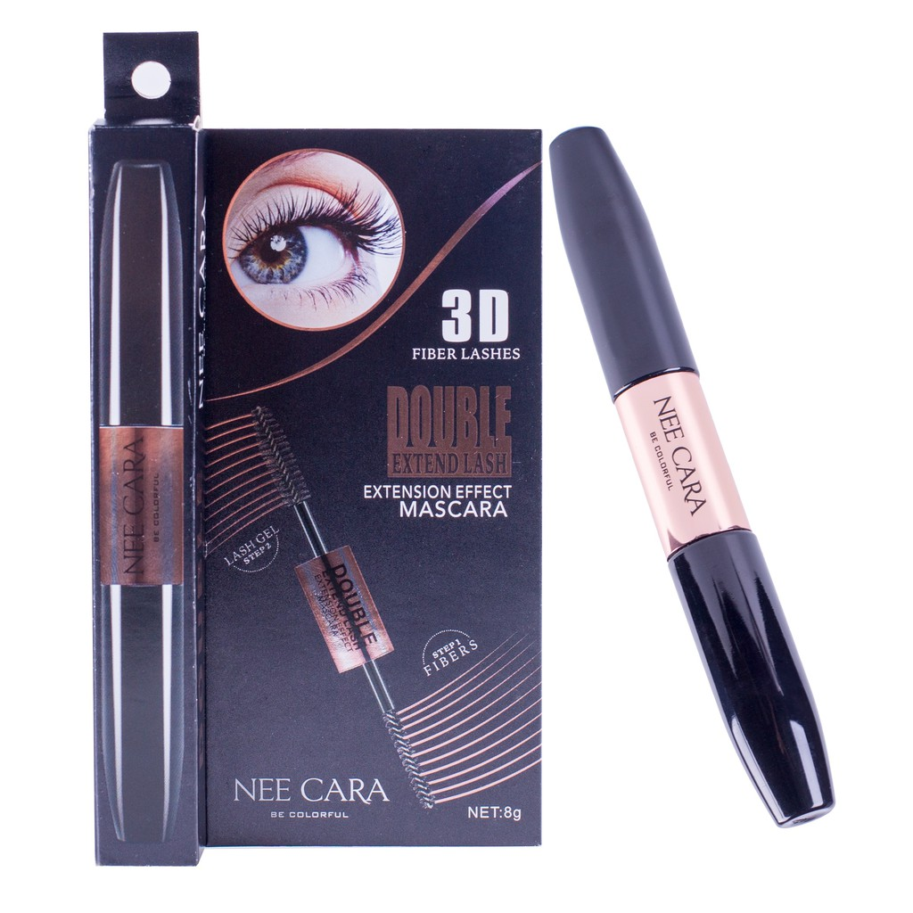 afc87ba16e1 มาสคาร่าNee Cara Double Extend Lash Extension Effect | Shopee Thailand