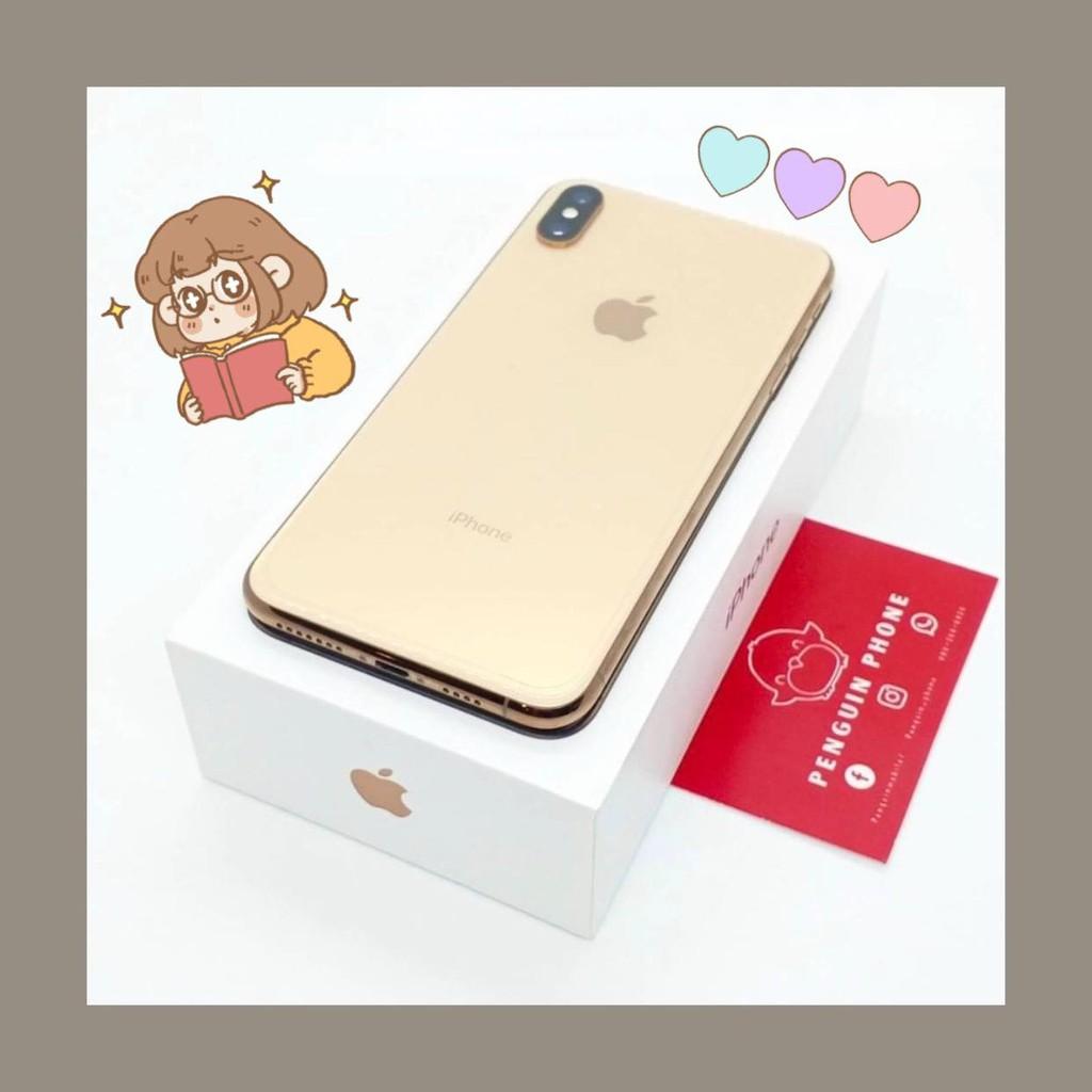 iPhone Xs Max 256GB สี Gold มือสอง สภาพ 99.99% [ไอโฟนมือสอง iPhoneมือสอง ไอโฟนมือ2 ไอโฟนราคาถูก โทรศัพท์มือสอง มือสอง]