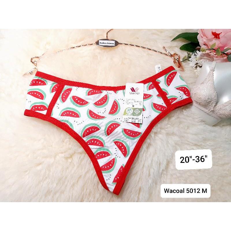 Wacoal Size M,L ชุดชั้นใน/กางเกงชั้นในทรงจีสตริง(G-string) Wacoal5012M