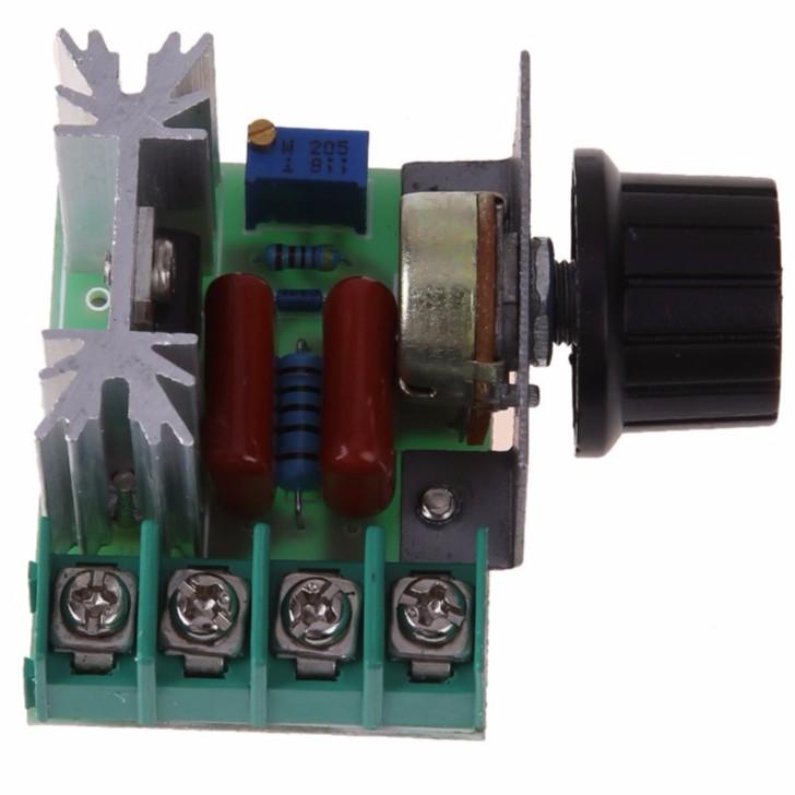 2000W PWM AC Motor Speed Control Module Dimmer Speed Regulator 50-220V 25A Adjustable Voltage Regulator