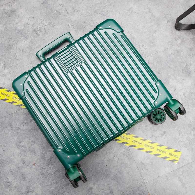 ■เทรนด์สดขนาดเล็กกระเป๋าเดินทางขนาด 18 นิ้วกระเป๋าเดินทางขนาดเล็กกระเป๋าเดินทางหญิงย้อนยุคกระเป๋าเดินทางกระเป๋าเดินทาง