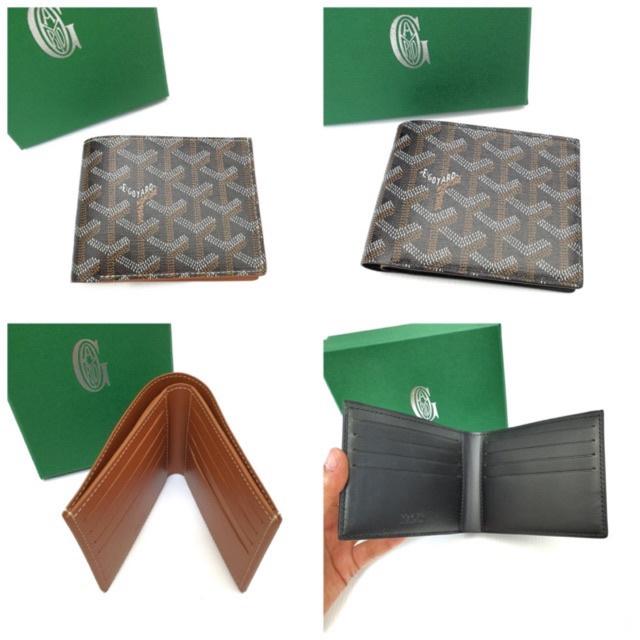 New Goyard wallet สอบถามสี ราคาผ่อน