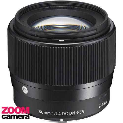 ☛Sigma Lens DN 56mm f1.4 (C) DC (ประกันศูนย์ 3 ปี) ลงทะเบียนผ่าน website ภายใน 7 วันหลังซื้อสินค้า♒