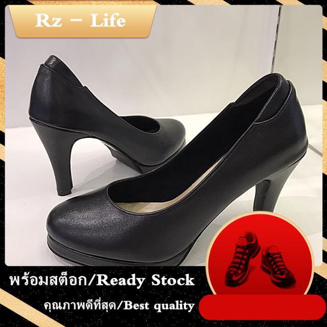 รองเท้าส้นสูงแฟชั่น รองเท้าคัชชูส้นสูงทรงหัวมน รองเท้าคัชชูผู้หญิง Penne รุ่น YA88015-35