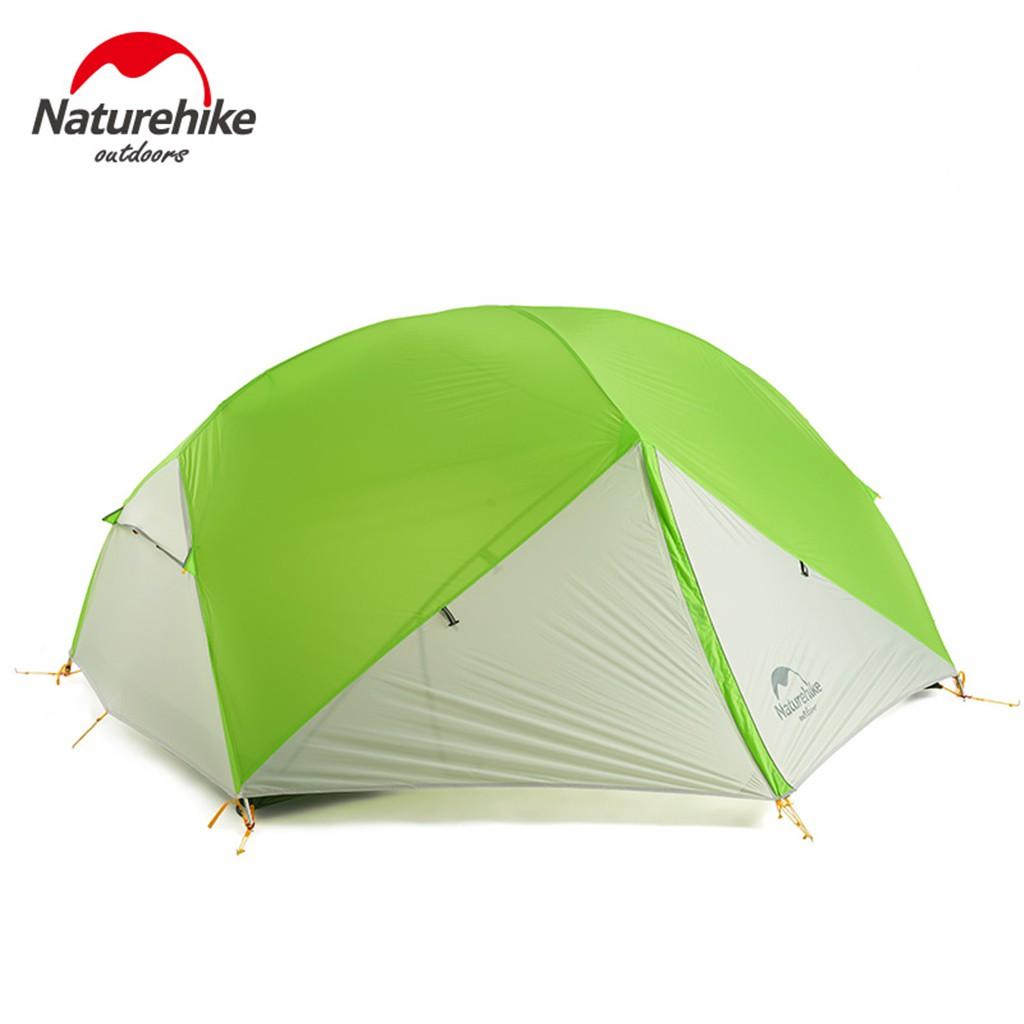 Naturehike Mongar 3 Season Camping Tent 2 Persons Double Layer Waterproof Tent pbmr
