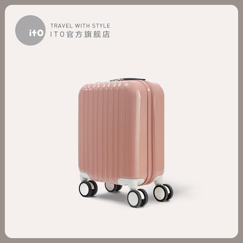 ♗☠กระเป๋าเดินทางเด็ก  กระเป๋ารถเข็นเดินทางito กระเป๋าเดินทางเด็กกระเป๋าเดินทางใบเล็กหญิงชายน่ารักบุคลิกนักเรียนเกาหลีรถเ
