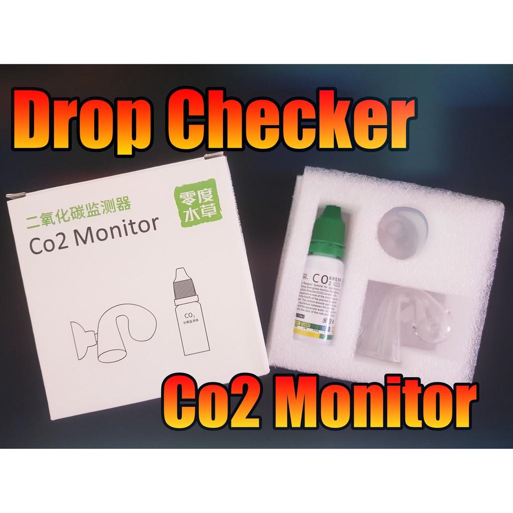 Drop checker Co2 indicator Co2 Monitor ตัววัดปริมาณ Co2