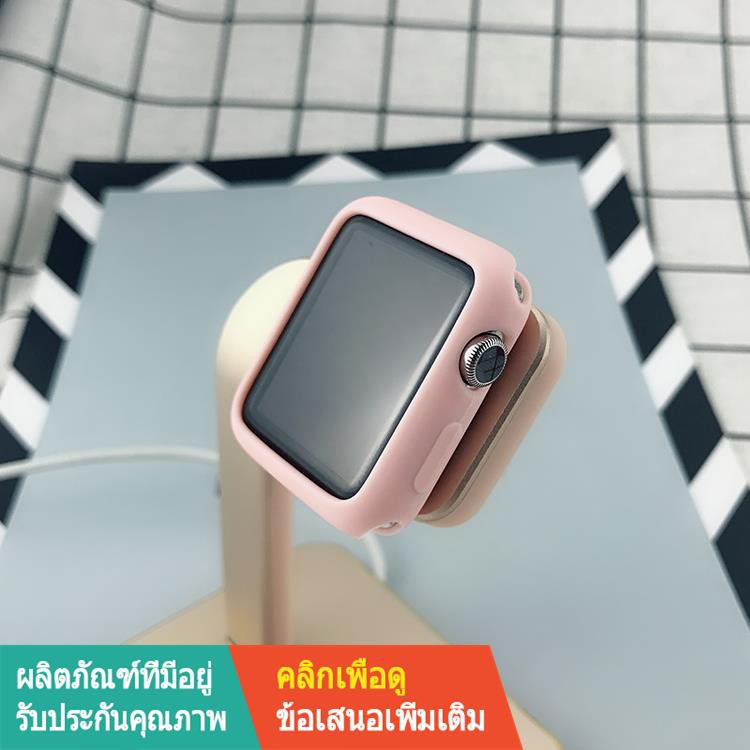 【ขาย】▣✖เหมาะสำหรับ applewatch6 เคส 2 รวม iwatch3 แอปเปิ้ลวอทช์ 1 เคสนิ่ม 4 กีฬา se ซิลิโคน 5 บาง