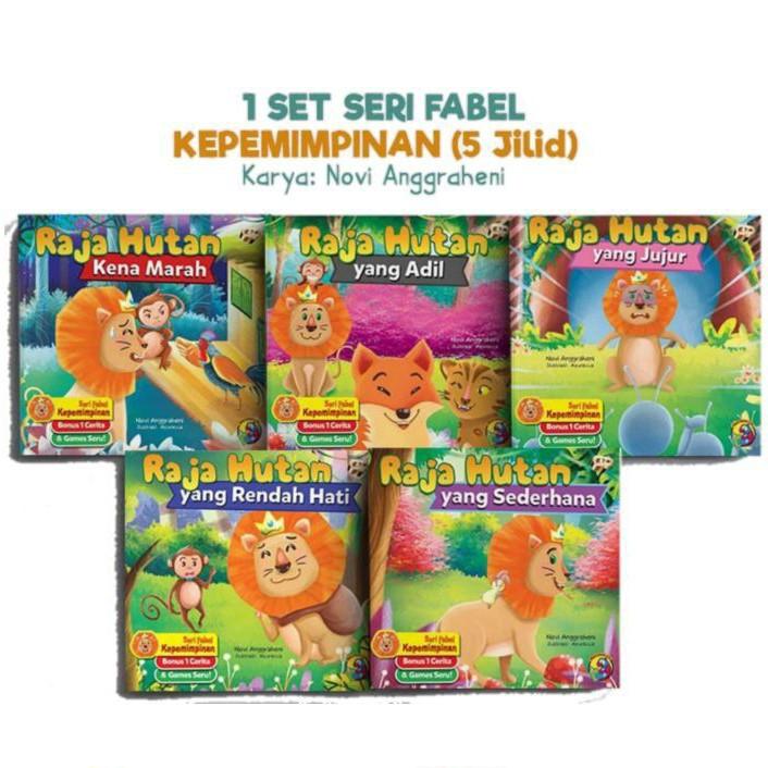 หนังสือ Series Of Leadership / Children's 's 's Books / Story Books / หนังสือสําหรับเด็ก