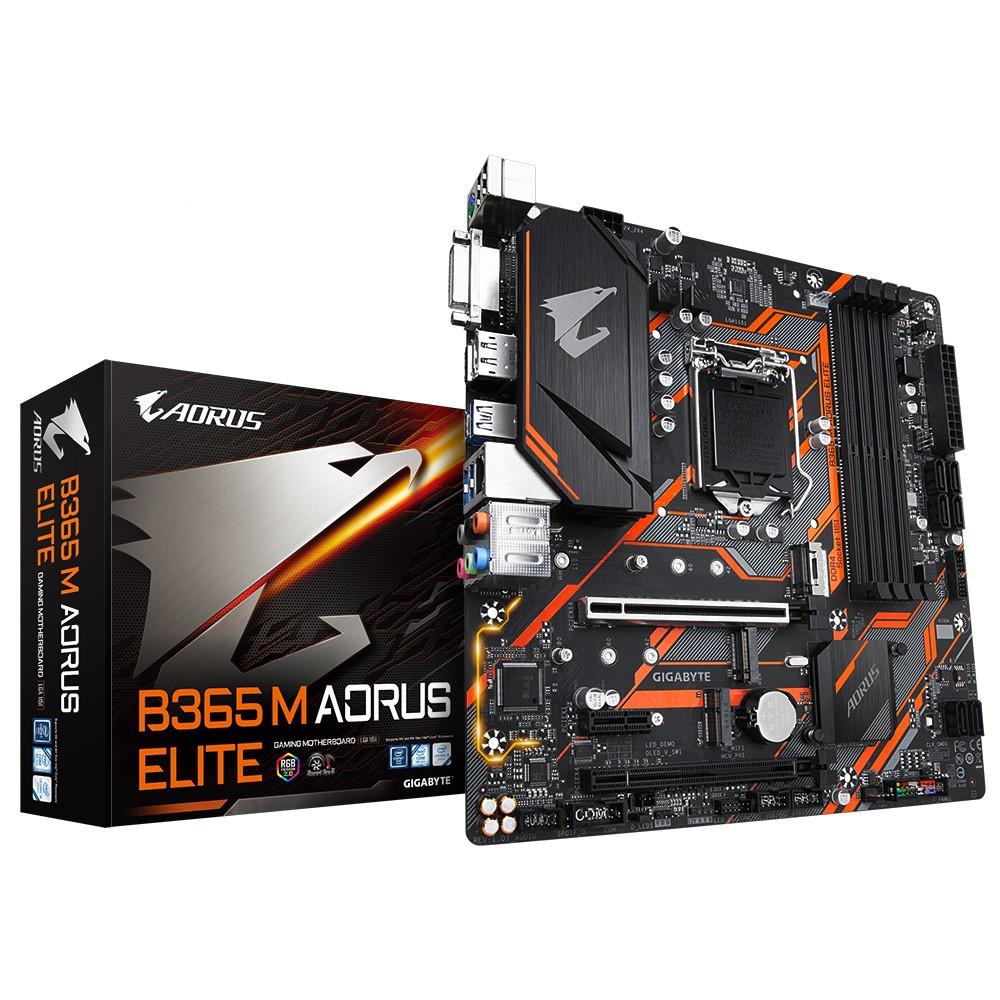 GIGABYTE B365M AORUS ELITE Intel Motherboards