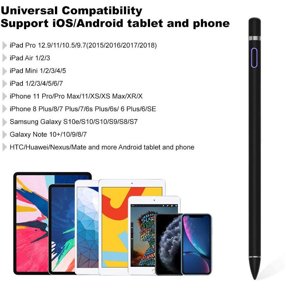 ▲♈GOOJODOQ stylus ปากกาสัมผัสสําหรับ apple pencil ipad pro air 2 3 mini 4 ปากกาสําหรับแท็บเล็ต ios/android