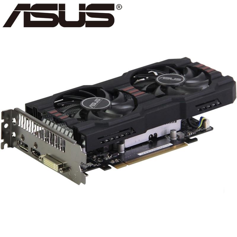 ASUS R7 260X 2GB 128Bit GDDR5 Graphics Cards for AMD Radeon R7260X VGA  Cards Used Equivalent GTX 750 TI GTX 750TI