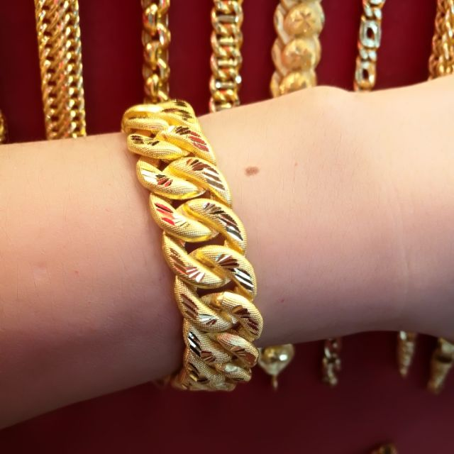 สร้อยมือทองแท้ 96.5% น้ำหนักทอง 2 บาท ราคา 57,500 บาท