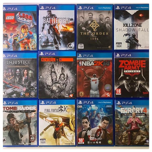 แผ่นเกมส์  PS4  มือ2