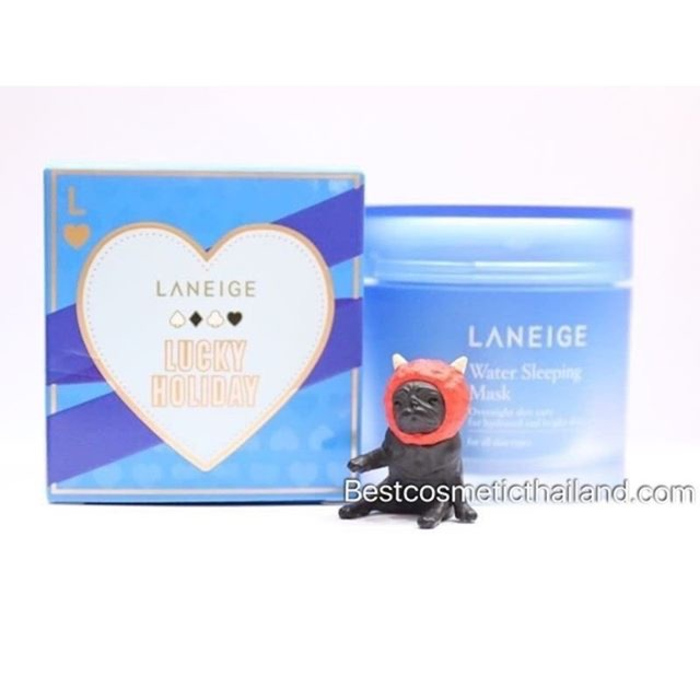 Laneige Water Sleeping Mask Limited Edition LUCKY HOLIDAY ขนาด70ml.