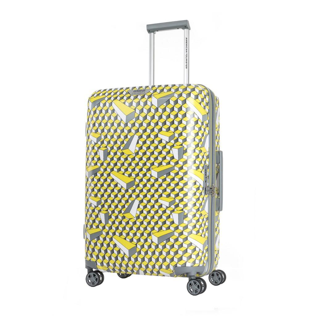 AMERICAN TOURISTER กระเป๋าเดินทางล้อลาก (24นิ้ว) รุ่น AT X ELEY KISHIMOTO SPINNER 67/24 EXP TSA