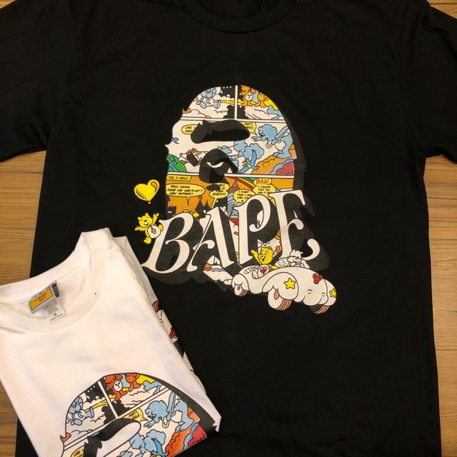 เสื้อยืด Bape X Care Bears พร้อมส่งค่ะ