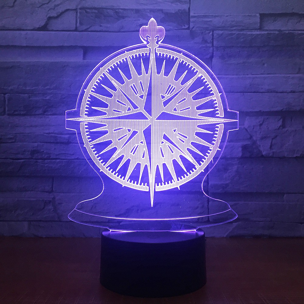 Cheapest Price Creative products acrylic night light 3d
