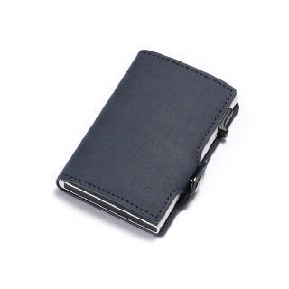 Large Brown Leather Multi Purpose Belt Pouch Bag Purse Unisex Money Cards Camera