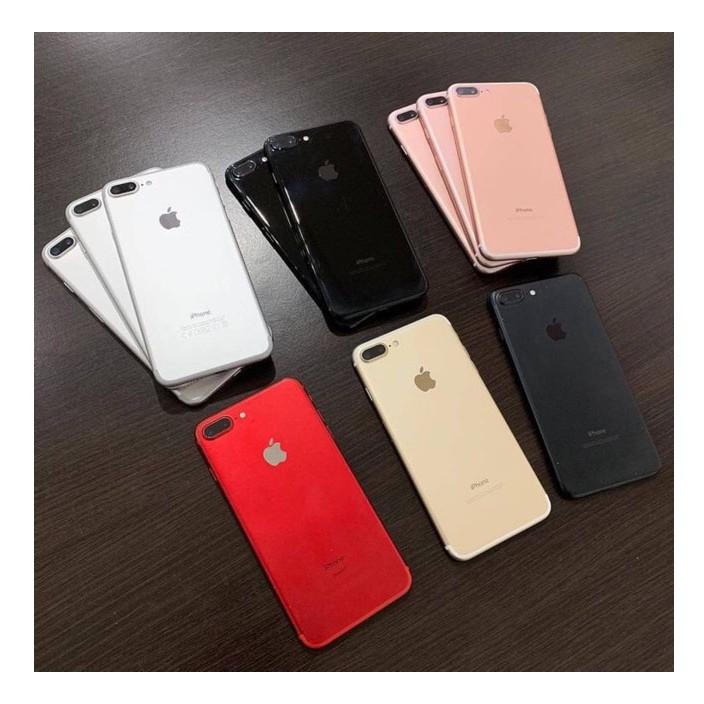 ไอโฟนโทรศัพท์ไอโฟน Apple iphone 7 plus โทรศัพท์ไอโฟน7plus มือสอง ipone7 plus มือสองต้นฉบับ 100% มือ 2ใหม่ 99% 32GB 128G
