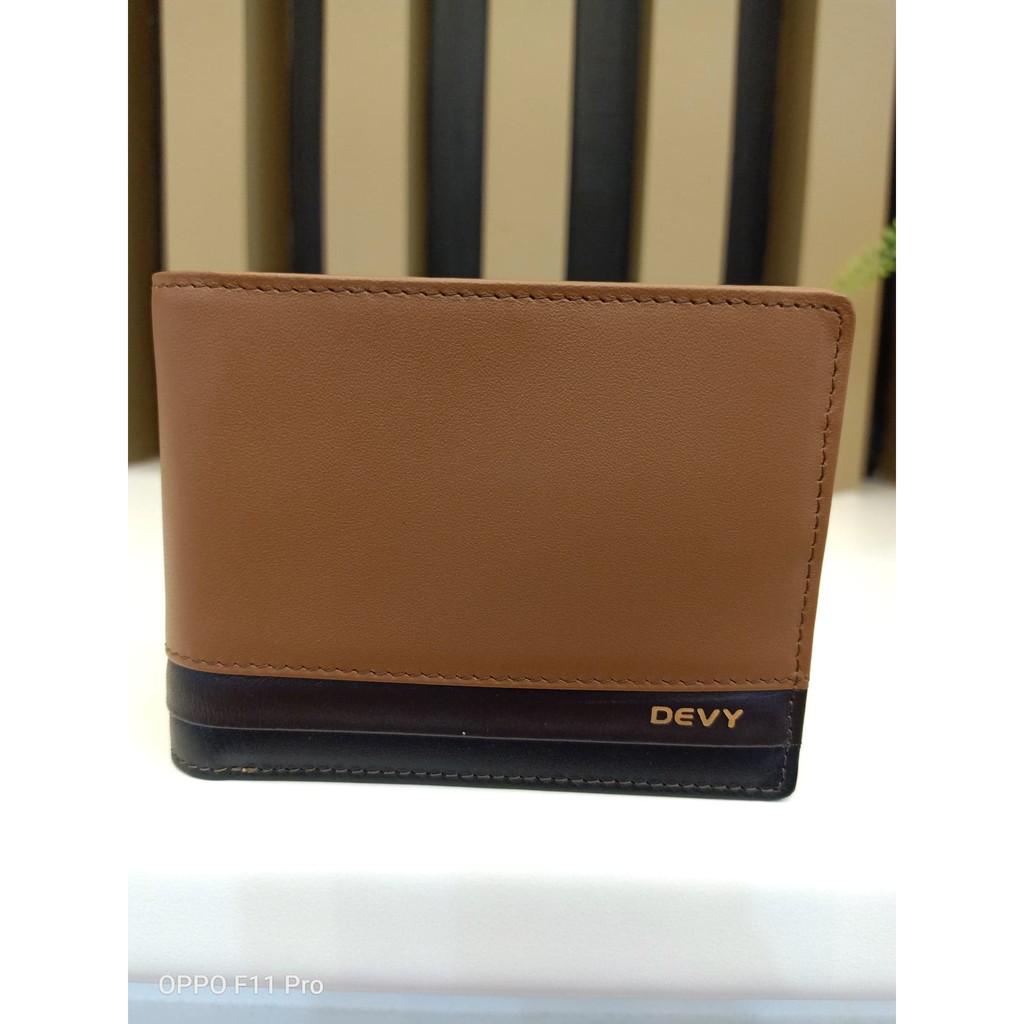 กระเป๋าธนบัตรแบบครึ่งใบ Devy รุ่น 833