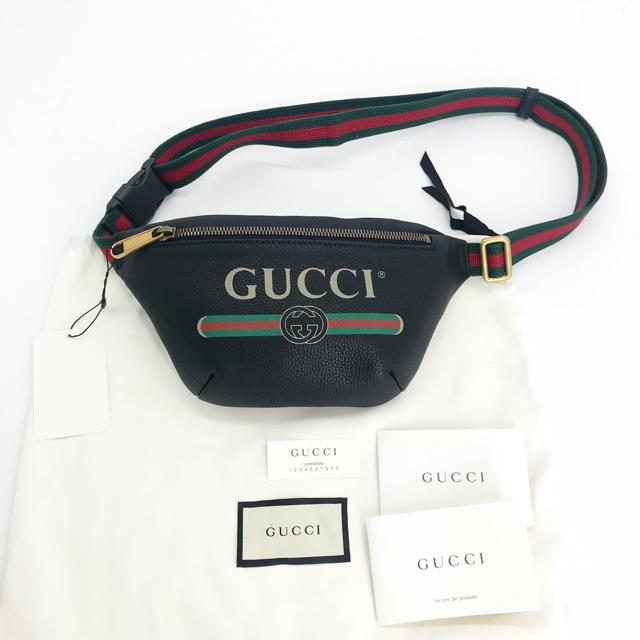 New! Gucci belt bag Leather ปี19 size95