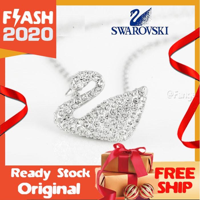 Swarovski สร้อยคอคริสตัลรูปหงส์ 5007735